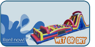 wet obstacle course rentals las vegas rentals
