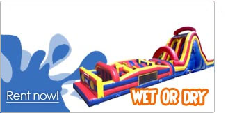 obstacle course rentals inflatable las vegas