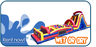 wet obstacle course rentals las vegas