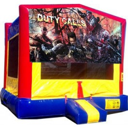 Duty Calls Army Bounce House