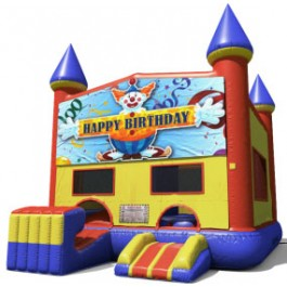 Happy Birthday Bounce Slide combo