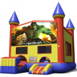 Hulk Bounce Slide combo