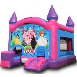 (A1) Princess Castle Bounce Slide combo