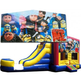 Despicable Me / Minions Blue or Pink Bounce Slide combo (Wet or Dry)