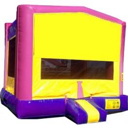 (A) Modular Bounce House (Girl)
