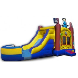 Pirate Bounce Slide combo (Wet or Dry)