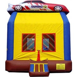 (A) Race Car Bounce House