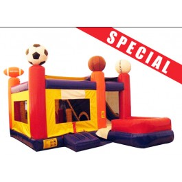 Sports 7N1 Bounce Slide combo (Wet or Dry)