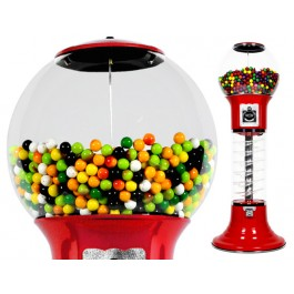Gumball Vending Machine with 50 tokens & gumballs