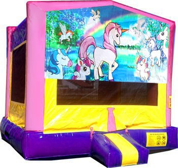 Brilliant Unicorn Bounce House Interior Design Ideas Gentotryabchikinfo