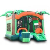 (B) Jungle Gym Bounce Slide combo
