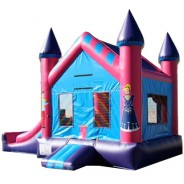 Princess Castle Econo Bounce Slide combo (Wet or Dry)
