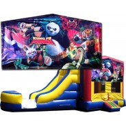 Kung Fu Panda Bounce Slide combo (Wet or Dry)