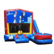 Cat in the hat 7n1 Bounce Slide combo (Wet or Dry)