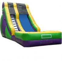 20ft Screamer Dry Slide Rental