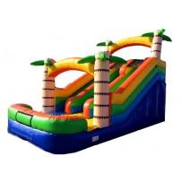 18ft Adventure Island Dual Lane Slide