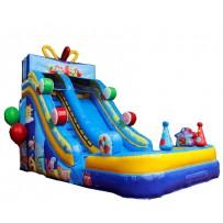 18ft Birthday Party Wet-Dry Slide
