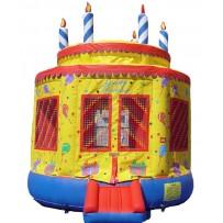 Birthday Cake Bounce House