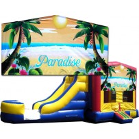 Paradise Banner Bounce Slide combo (Wet or Dry)