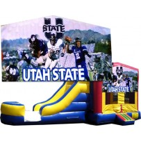 Utah State Bounce Slide combo (Wet or Dry)