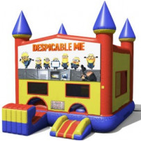 Despicable Me / Minions Blue or Pink Bounce Slide combo