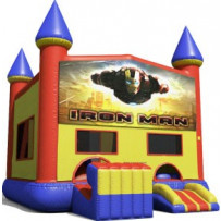Iron Man Bounce Slide combo