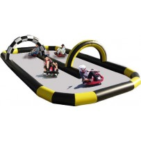 GoCarts with Inflatable course