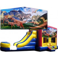 Dinosaurs Bounce Slide combo (Wet or Dry)