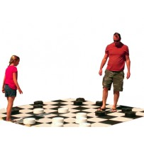 (A) Giant Checkers Game