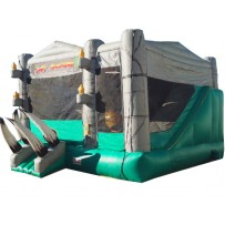 Jurassic Adventureland Bounce Slide Combo (Dry)