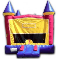 (A) Modular Castle Bounce House Girl