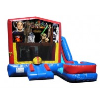 Star Wars 7N1 Bounce Slide combo (Wet or Dry)