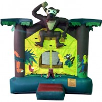 (B) Monkey Bounce House