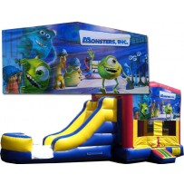 Monsters Inc Bounce Slide combo (Wet or Dry)