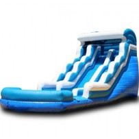 18ft Blue Wave Water Slide