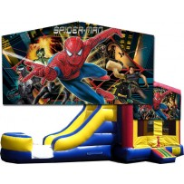 Spider-Man Bounce Slide combo (Wet or Dry)