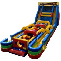 Vertical Rush Obstacle Dual Lane Slip n Slide (Wet Only)