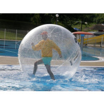 5 Walking Water Balls and 30ft Pool
