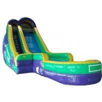 24ft Screamer Dry Slide Rental