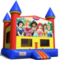 Disney Princess Castle Bounce House
