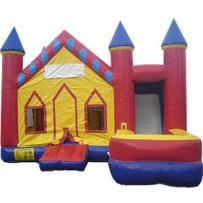 (A1) Castle 7N1 Bounce Slide combo (Wet or Dry)