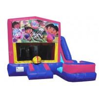 Dora The Explorer 7N1 Bounce Slide combo (Wet or Dry)
