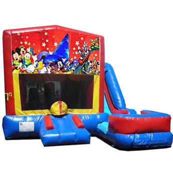 Disney Bounce Slide combo  (wet or dry)
