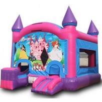 (A1) Princess Castle Bounce Slide combo dry