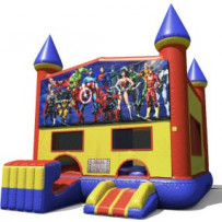 Super Heroes Bounce Slide combo (wet or dry)
