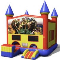 Teenage Mutant Ninja Turtles Bounce Slide combo (Wet or Dry)