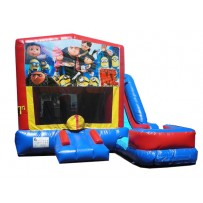 Despicable Me / Minions Blue or Pink 7n1 Bounce Slide combo (Wet or Dry)