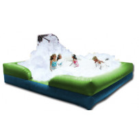 foam pit and bubble machine