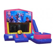 Frozen Pink or Blue 7n1 Bounce Slide combo (Wet or Dry)