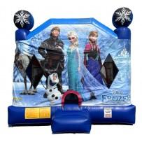 Frozen 4N1 Bounce Slide combo (Dry)